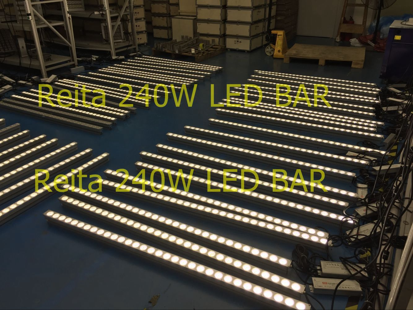 150pcs 240w LED bar light